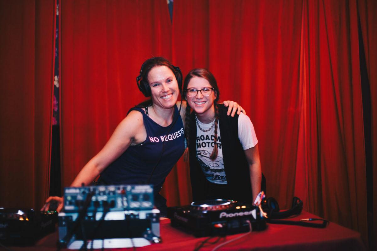 DJs Lydia Bflo & Alicia Greco