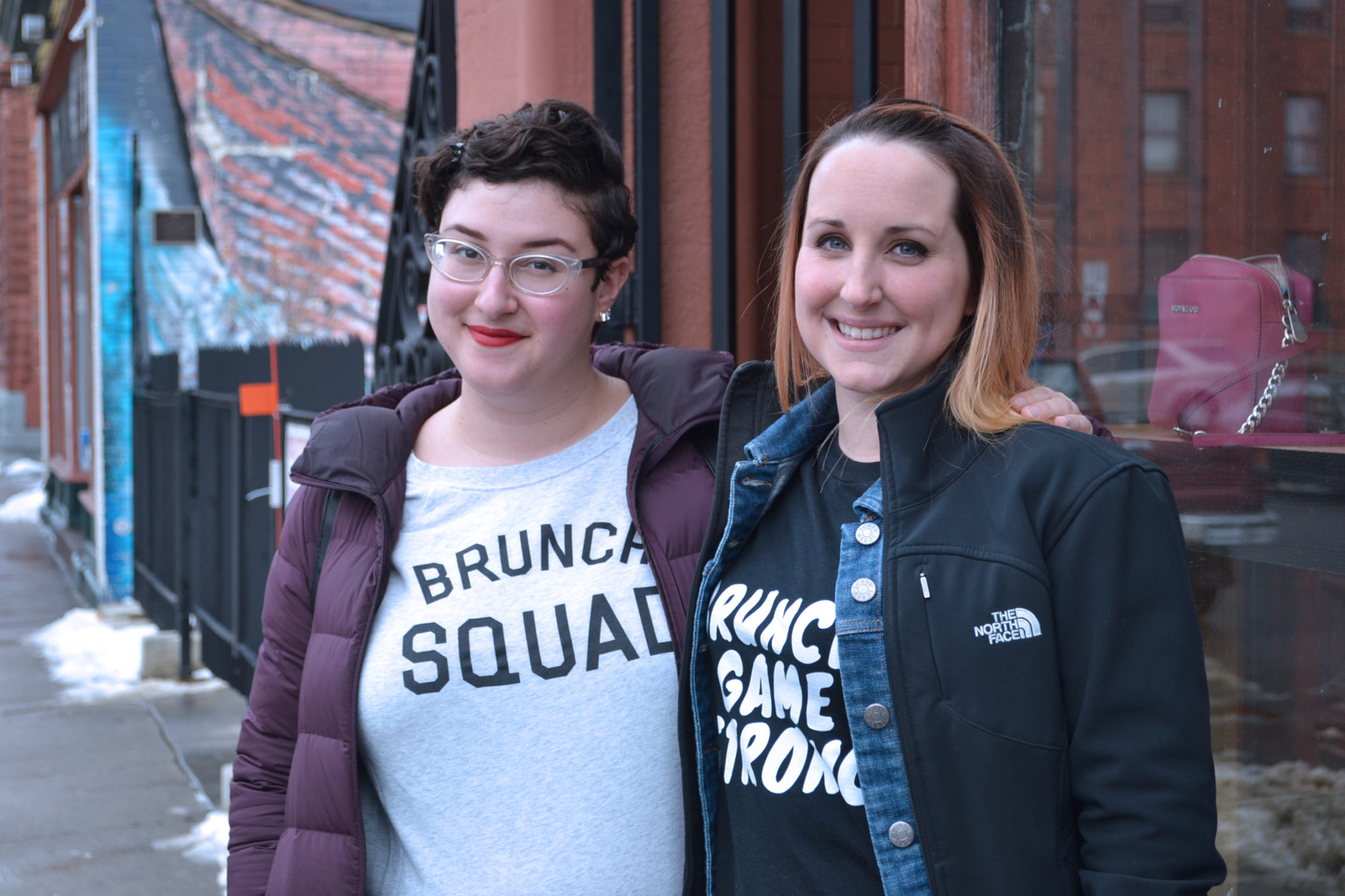 Jill Greenberg and Katelyn Cerankosky