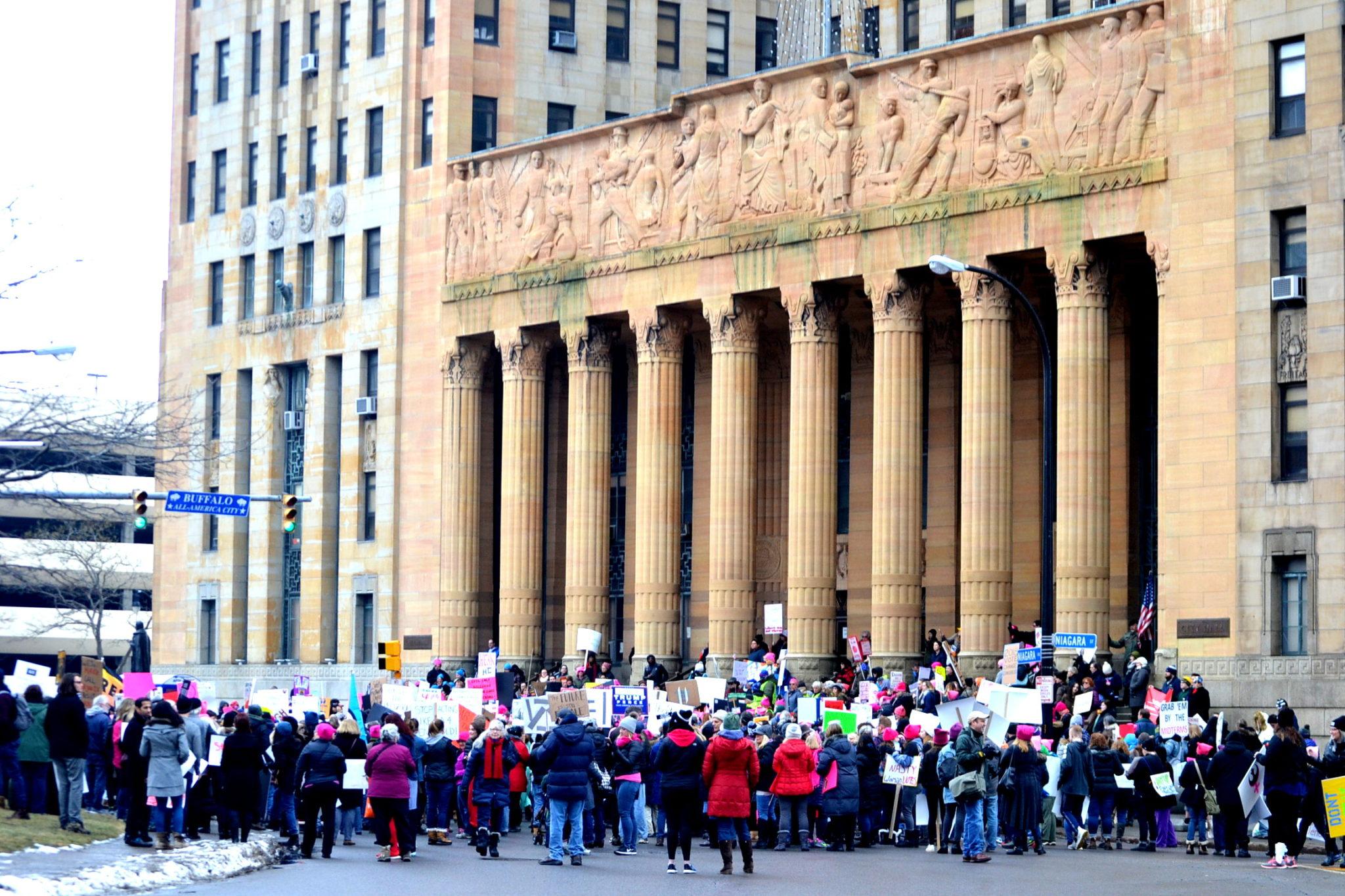 The Women's Solidarity March 2018, Buffalo, NY
